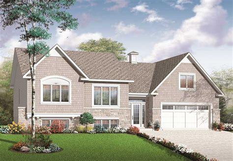 split level home designs split level multi level house plan 2136 sq ft home plan 126 1081