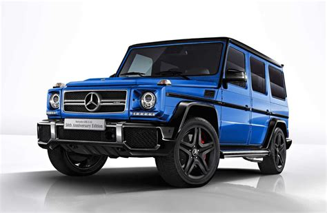 Mercedes Amg by Mercedes Amg G 63 50th Anniversary Edition Announced For