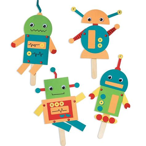 robot crafts for pin by larouche on crafts