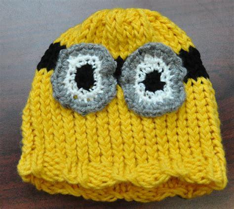 minion hat knitting pattern minion hat knitting rays of