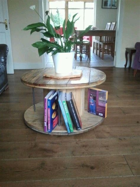 cable coffee table cable spool coffee table tables cable