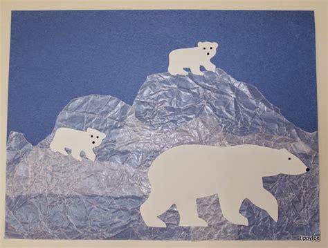 arctic crafts for tippytoe crafts polar animal crafts