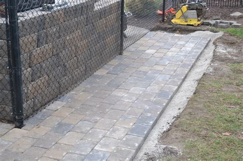 how to install a paver patio paver patio installation how to properly install your