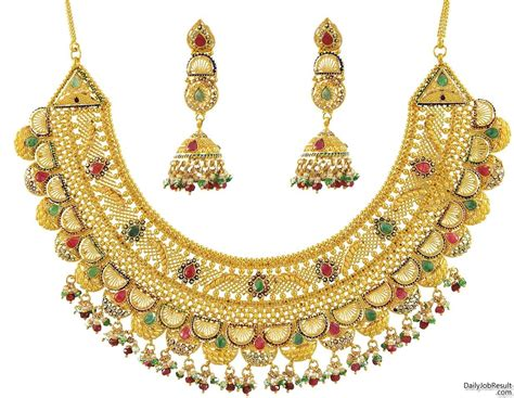 gold jewelry bridal gold jewellery designs with price in pakistan 2018