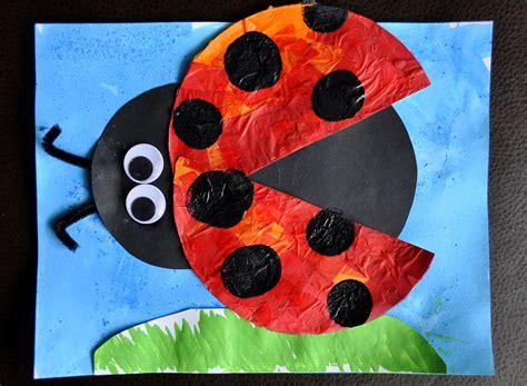 ladybug craft projects i crafty things eric carle inspired bug craft