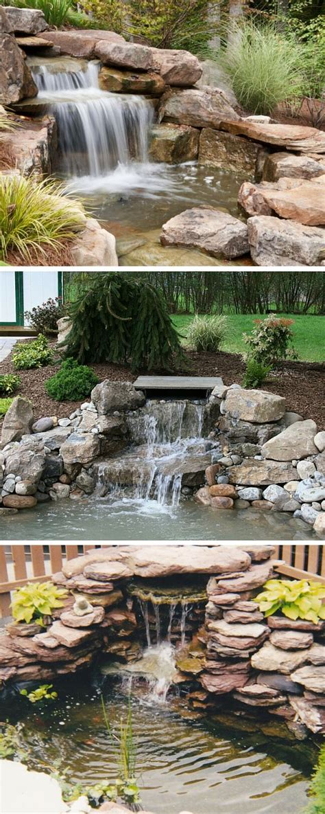 backyard pond ideas with waterfall best 25 small backyard ponds ideas on