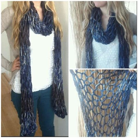 arm knitting scarf 58 best arm knitting images on