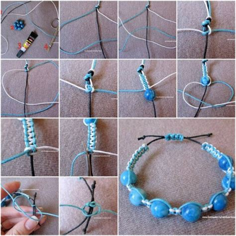 how to make jewelry bracelets how to make large bracelet step by step diy tutorial