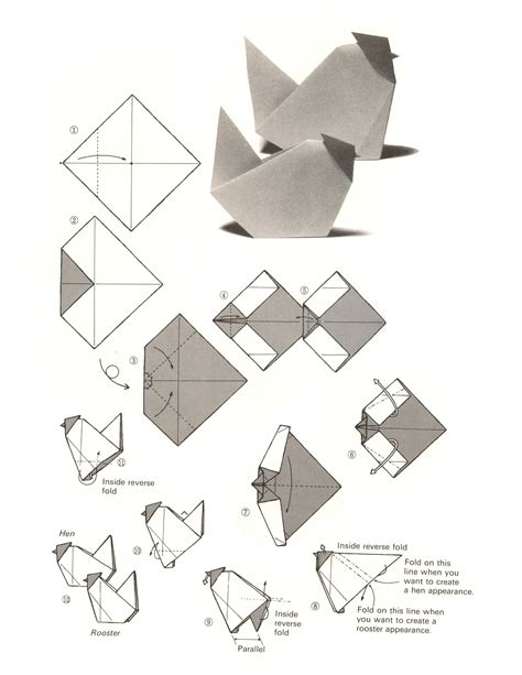origami activity for origami chicken origami origami