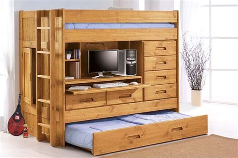 discovery all in one bunk bed seven pull out furniture designs for a smart home hometone