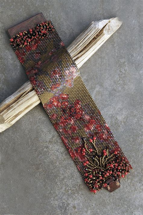 beaded peyote bracelet pattern 365 best peyote stitch beading patterns images on