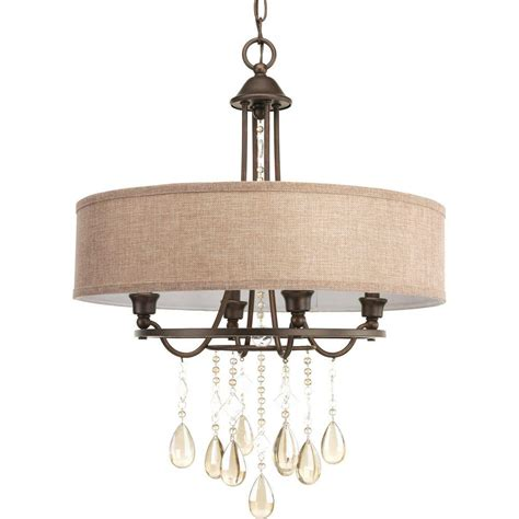 chandeliers at home progress lighting fresnel collection 1 light rubbed