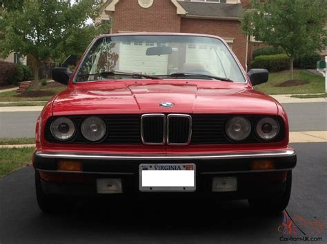 1989 Bmw Convertible by 1989 Bmw 325i Base Convertible 2 Door 2 5l