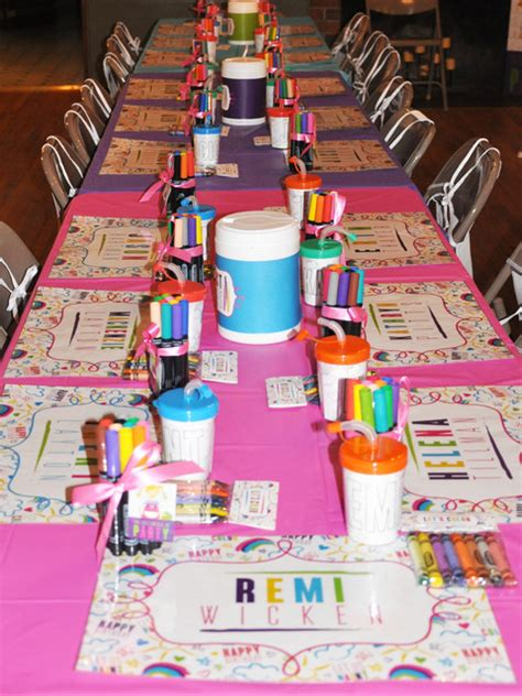 arts and craft ideas for arts crafts birthday ideas photo 9 of 56 catch