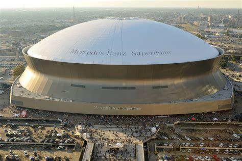 Where Is The Mercedes Superdome mercedes superdome new orleans saints stadium journey