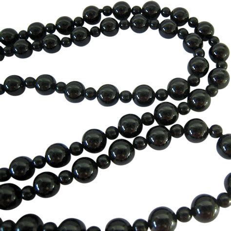 onyx bead necklace black onyx bead necklace endless from susabellas on ruby