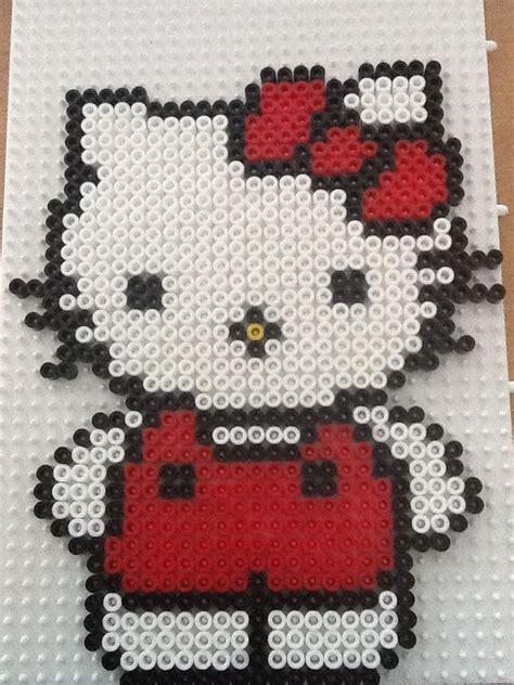 hello hama bead pattern hama bead hello by randi frederiksen projekter