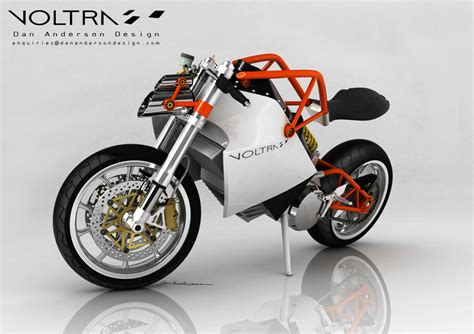 Electric Motorcycle by Voltra Electric Motorcycle Concept Look Ma No Tank