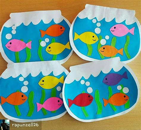 kid crafts for 25 unique fish crafts ideas on fish crafts