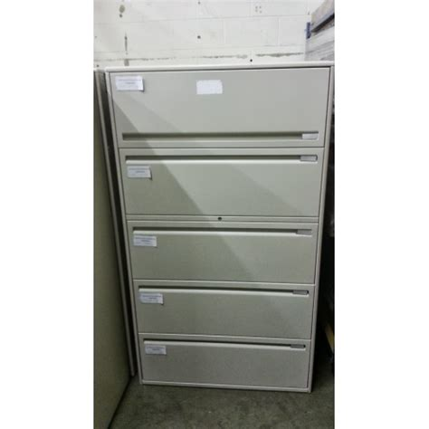 haworth lateral file cabinet haworth 5 drawer lateral file cabinet beige allsold ca