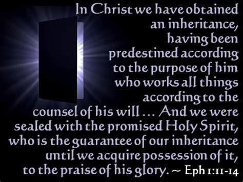 Songs & Scriptures: Ephesians 1: In Christ Ephesians 1:11