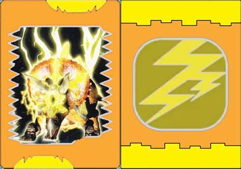 how to make dinosaur king cards image ultimate thunder jpg dinosaur king anime cards