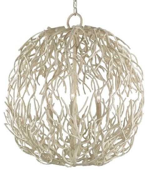 white coral chandelier currey co 9501 eventide white coral 3 light chandelier
