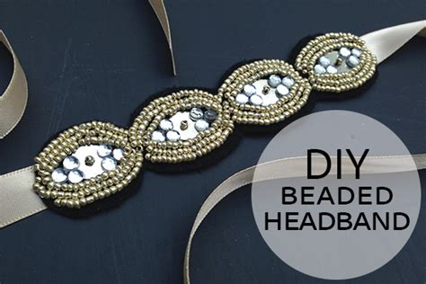 how to wear beaded headband how to make a beaded headband diy beaded headband