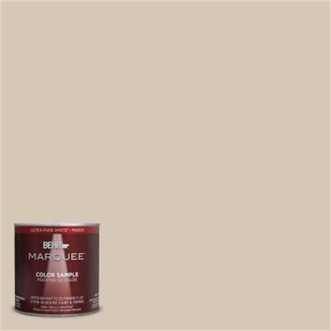 home depot behr marquee paint colors behr marquee 8 oz mq3 10 beige interior exterior