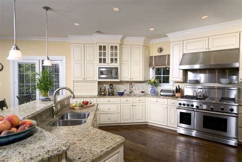 kitchen cabinets light granite santa cecilia light granite kitchen traditional with