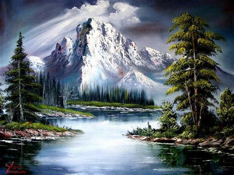 bob ross painting in bob ross sun after painting bob ross sun after