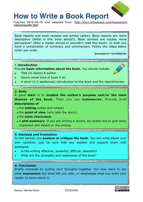how to write a picture book exle of book report writing