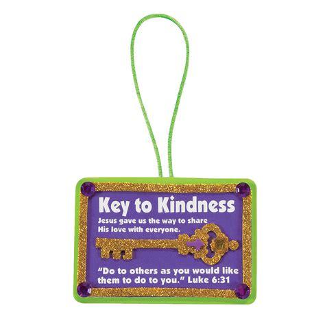 kindness crafts for key to kindness ornament craft kit ornament crafts