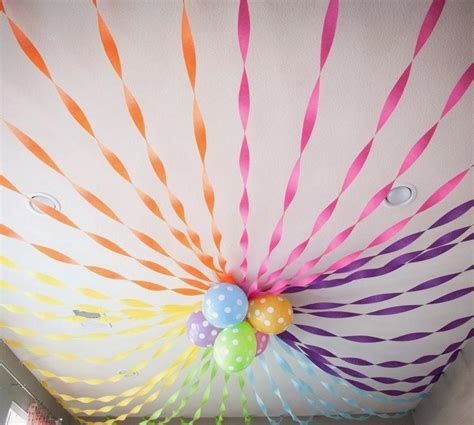 crepe paper decorations for crepe paper streamers how to decorated with