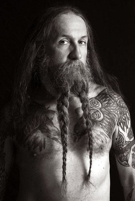 beard braid beards pigtail and hair tattoos on