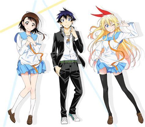 Nisekoi Anime Debuts On 11th January Claris Performing