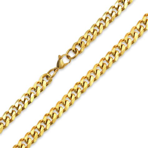 chain links for jewelry bling jewelry steel curb cuban wide link chain necklace