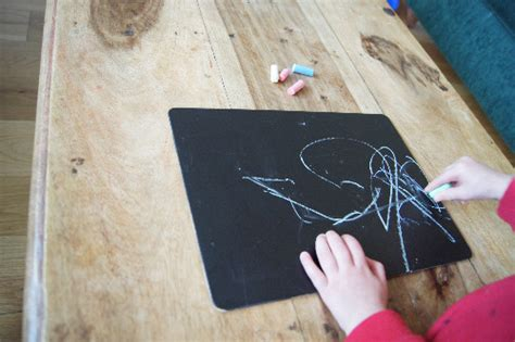 diy chalkboard for toddlers easy diy chalkboard paint ideas planning with