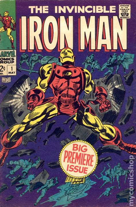 pictures of comic books iron 1968 1st series comic books