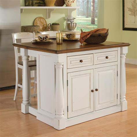 images of kitchen island shop home styles white midcentury kitchen islands 2 stools at lowes