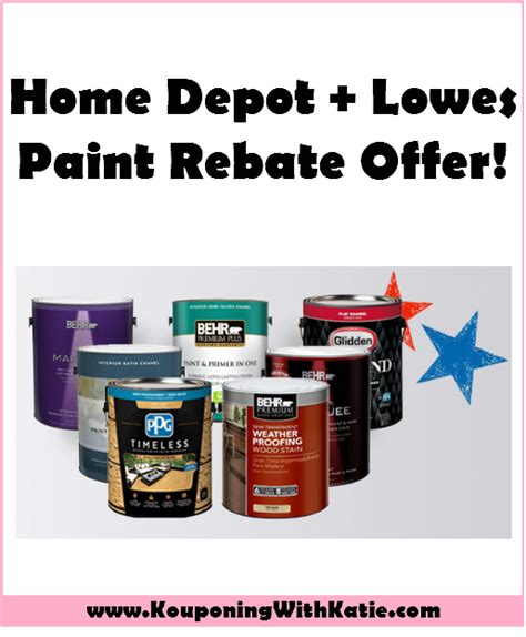 home depot paint rebate awesome home depot or lowes paint rebate offer