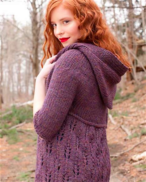 hooded cardigan knitting pattern free hooded knit sweater patterns a knitting