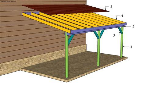 Carport Plans by Building An Attached Carport Carport Plans