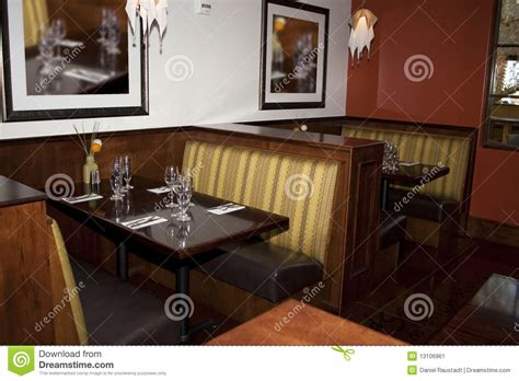 restaurant booths and tables restaurant dining booth tables stock image image 13106961