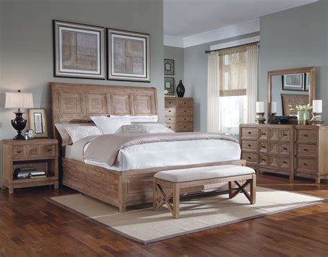 unfinished oak bedroom furniture how oak bedroom furniture can look in bedroom design