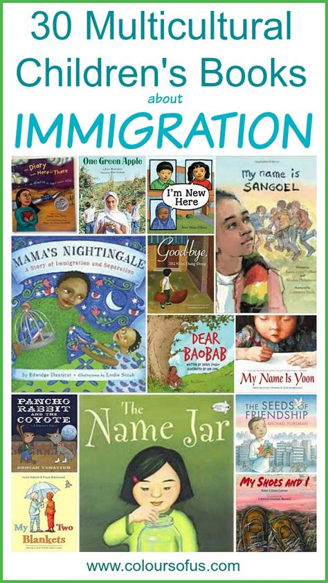 immigration picture books 30 multicultural picture books about immigration colours