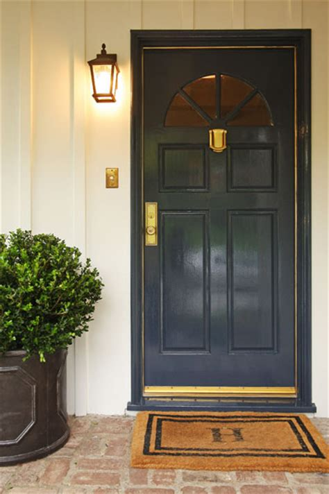 navy blue front door navy blue front door traditional entrance foyer jenn
