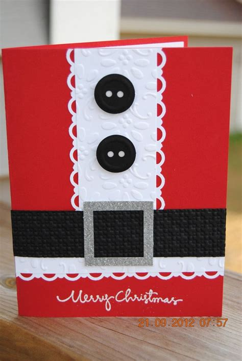 santa cards to make 25 best ideas about cards handmade on