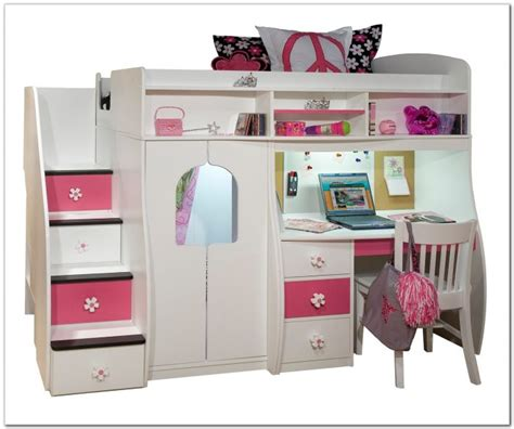 bunk bed with stairs and desk bunk bed with desk and stairs fantastic bunk beds with