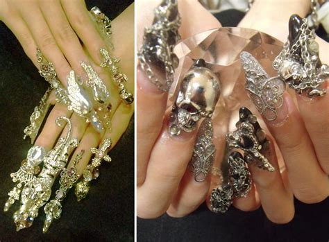 how to make nail jewelry exquisite nail jewelry stylefrizz